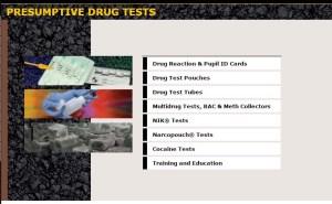 drug testing copy
