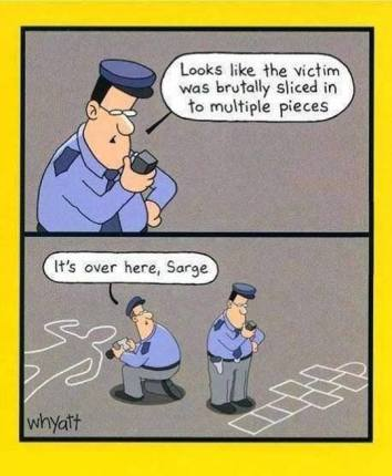 Image result for crime scene mistakes